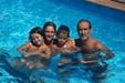 Mariola Rueda, Daniel Moreno, Dani y Noe [Clic para ampliar la imagen]